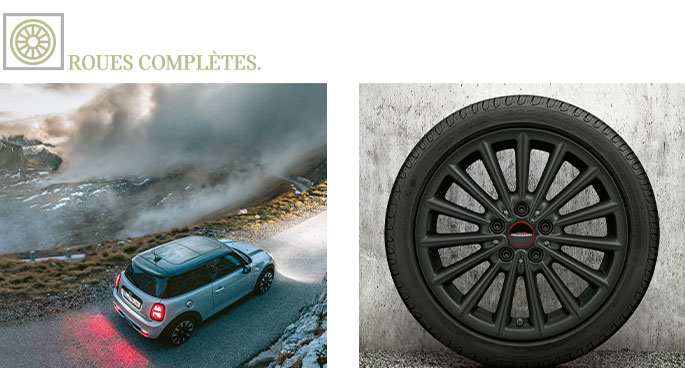 roues complètes