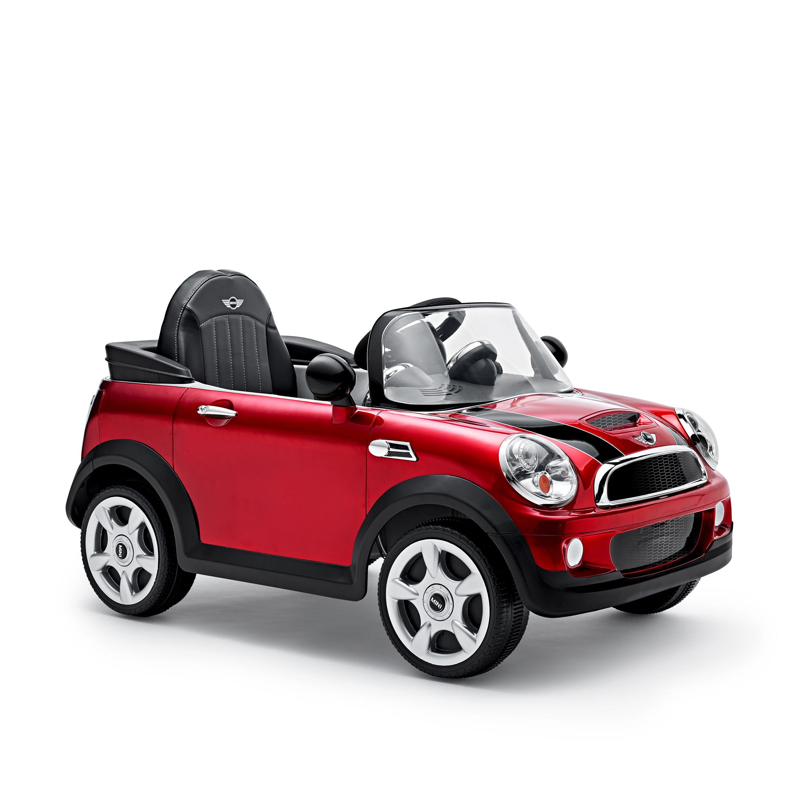 mini cooper s cabrio rouge lectrique dans mini lifestyle mobilit et miniatures boutique. Black Bedroom Furniture Sets. Home Design Ideas