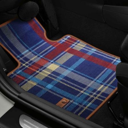 tapis de sol textile speedwell blue dans accessoires d 39 origine mini accessoires int rieurs. Black Bedroom Furniture Sets. Home Design Ideas