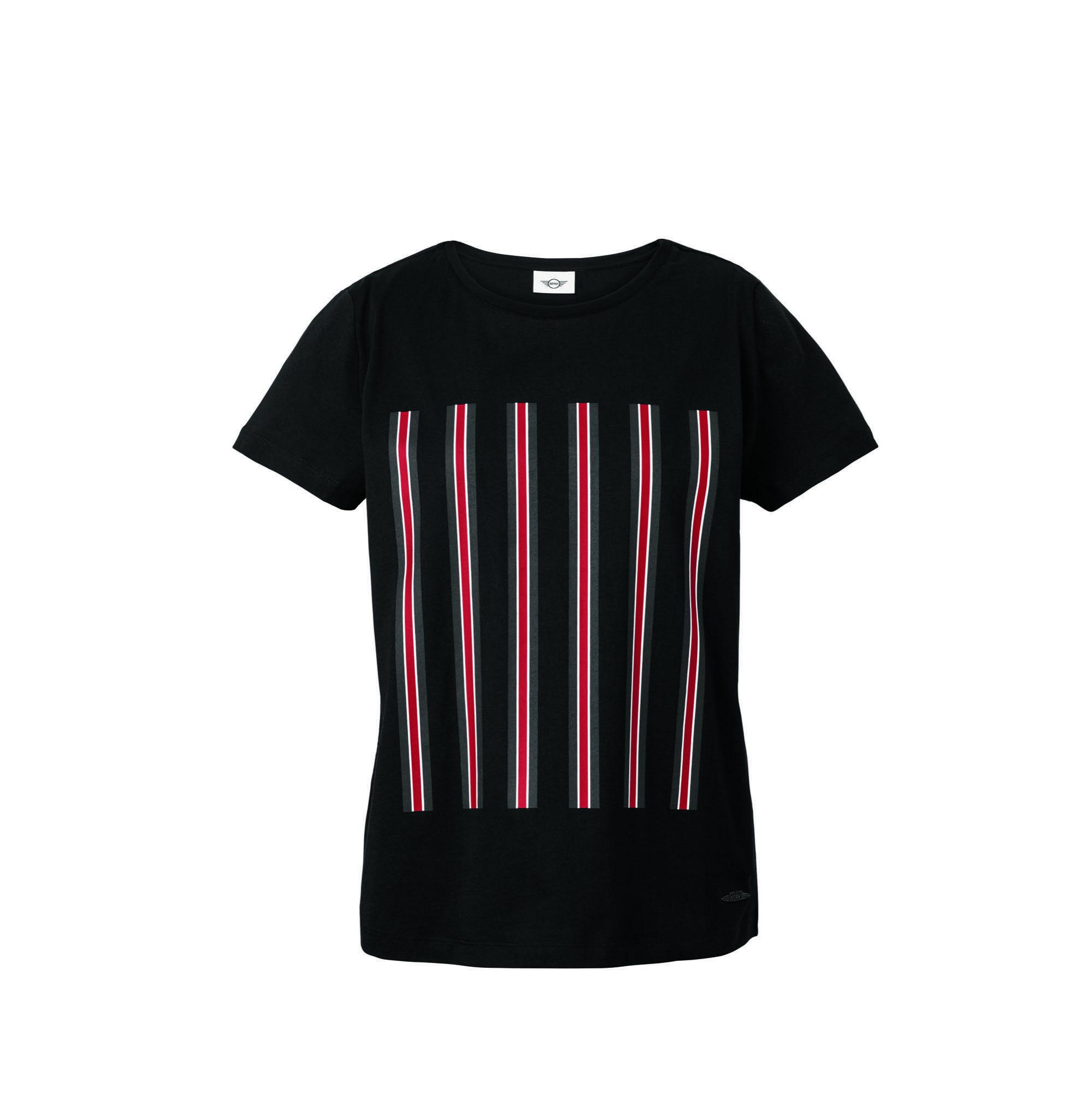 t shirt ray femme jcw noir dans mini lifestyle collection lifestyle mini john cooper works. Black Bedroom Furniture Sets. Home Design Ideas