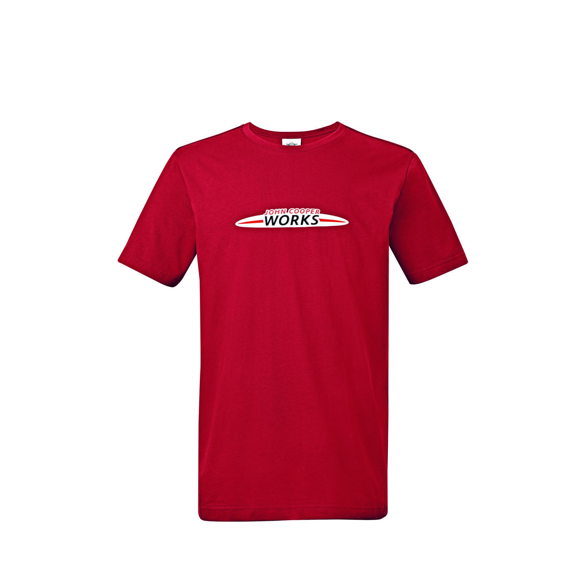 b2239d4f65130b T-Shirt Homme Logo JCW Chili Red dans MINI Lifestyle   Collection Lifestyle  MINI John Cooper Works – Boutique Accessoires et Lifestyle MINI France ...